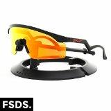 Oakley Unisex Heritage Razor Blades Sunglasses, Black/Fire Iridium, One Size