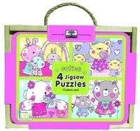 Cuties: Green Start Jigsaw Puzzle Box Sets