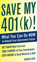 Easy-to-follow action plans for reversing retirement investment losses and rebuilding wealth for the future Save My 401(k)! provides critical care to stop the hemorrhaging of your nest-egg dollars, stabilize assets, and rebuild wealth for the future