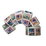 USPS Forever A Flag for All Seasons Postage Stamps (Self-Adhesive Roll of 100 Postage Stamps)