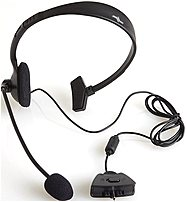 Icon Asd215 Wired Chat Headset For Xbox 360 - Black