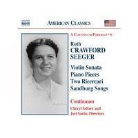 Ruth Crawford Seeger - Violin Sonata, Piano Pieces (Continuum) (Music CD)