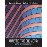 Analytic Trigonometry with Applications, 11th Edition