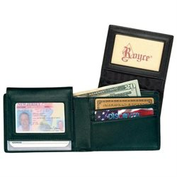 Royce Leather Men's Removable ID Pass Case Wallet
