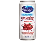 Diet Sparkling Cranberry Juice, 12Oz Can, 12/Carton