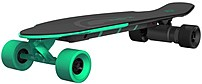 Yuneec Ego2crus002 Electric Longboard With Remote - Green/black