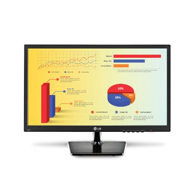 Lg Electronics 24mc37d-b 24 (23.5 Diagonal) 24mc37d-b Efficient And Convenient Led Monitor