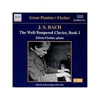 Johann Sebastian Bach - Well-Tempered Clavier Book 1 (Fischer) (Music CD)