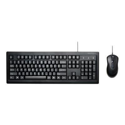 Kensington K72436us Keyboard For Life - Keyboard And Mouse Set - Usb - Us - Black
