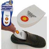 Memory Foam Heel Cushion Reduces Heel Shock & Pressure