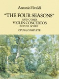 The Four Seasons And Other Violin Concertos In Full Score