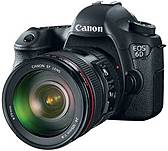 Canon 8035b009 Eos 6d Digital Slr Camera - 20.2 Megapixels - Ef 24-105mm Is Lens - 4.3x Optical Zoom - Wireless Lan - Black