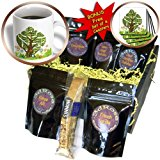 cgb_101835_1 Doreen Erhardt New Year Collection - Persian New Year Tree of Seven Sacred Heralds of Life - Coffee Gift Baskets - Coffee Gift Basket