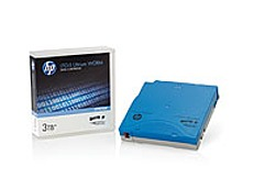 The HP C7975W LTO 5 Ultrium media offers the best capacity performance ratio of any tape technology, with terabyte class capacity and performance