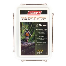 Coleman Sportsman Waterproof First Aid Kit 100 Piece