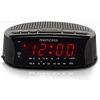 Memorex 02388 Mc0509 Alarm Clock Radio - Am/fm - Black