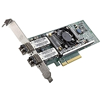 The Broadcom reg  57810 Dual Port Converged Network Adapter from Dell trade  is responsible for connecting your desktop and server to your network