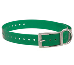 """Roller Buckle Collar Strap Brand New, The Tri-Tronics 12446CS is a collar strap featured with a """"D"""" ring and a plastic collar keeper"