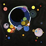 Several Circles 1926 Celestial Bodies Orbiting The Universe Bauhaus Period By Vasily Kandinsky Large Print Repro