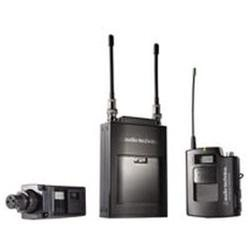Audio Technica ATW-1813D Audio Technica ATW-R1810 Receiver; ATW-T1801 Unipak & ATW-T1802 Plug-On Tra