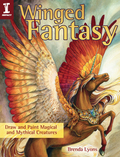 Create fantasy creatures in watercolor! Mythology, folklore and fantasy fiction are full of fantastical winged creatures like the fiery phoenix, a roaring dragon protecting his hoard, a fierce gryphon warrior and more