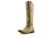 Frye Paige Tall Riding Womens Size 9.5 Gray Fashion Knee-high Boots