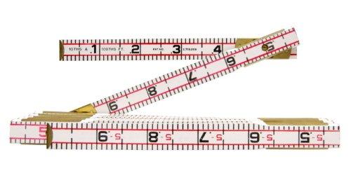 Lufkin 1066D 6 Engineers Scale Wood Folding Rule