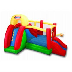Little Tikes Double Fun Slide 'n' Bounce Bouncer