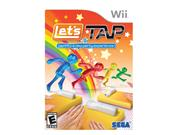 Let's Tap Wii Game SEGA