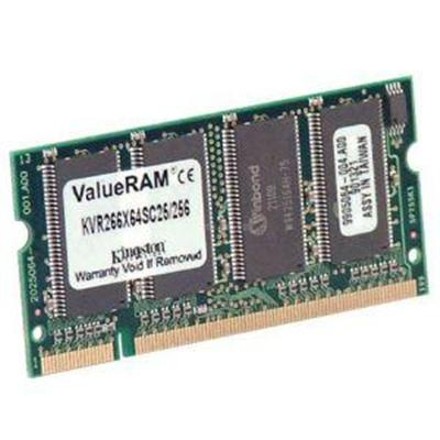256MB  133MHz PC133 SDRAM  144-pin SoDIMM - Memory Module