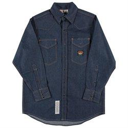 Rasco FR Blue Denim Western Shirt with Snaps 8.5 oz - DFR751