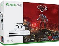 Microsoft 234-00128 Xbox One S 1 Tb Gaming Console - Halo Wars 2 Bundle - White