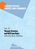 Vacuum Structure And Qcd Sum Rules