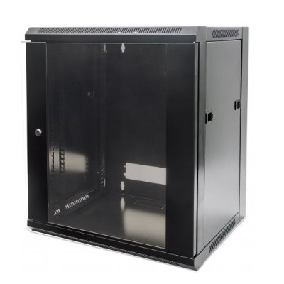 Intellinet Network Solutions 711937 19 15u Flatpack Wallmount Cabinet - Black