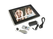 12.1 Inch 2gb Digital Albums Photo Frame Displays Photos Plays Videos Black