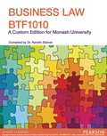 Business Law Btf1010 (custom Edition)
