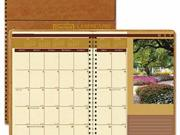 House of Doolittle Landscapes 100% Recycled Full-Color Ruled Monthly Planner - HOD524 Type: Appointment & Address Books