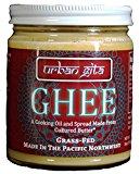 Urban Gita Ghee Made From Grass-fed Cultured Butter, 9 Oz