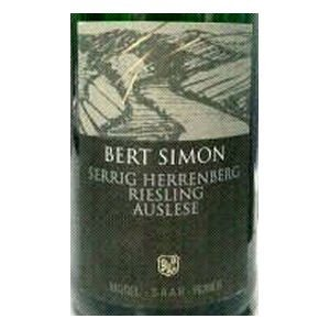 2003 Bert Simon Serriger Herrenberg Riesling Auslese 750ml