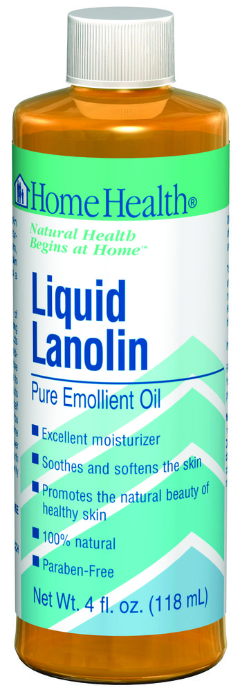 Liquid Lanolin Home Health 4 oz Liquid