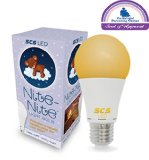 SCS Nite-Nite Light Bulb. Natural Baby Sleep Aid. Promotes Healthy Sleeping Habits for Baby and Mother | Certified by The National Parenting Center