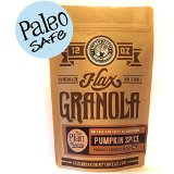 Pumpkin Spice Flax-Granola (