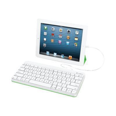 Logitech 920-006341 Keyboard - Apple Lighting Connector - English - For Apple Ipad (3rd Generation)  Ipad 1  2  Ipad Mini  Ipad With Retina Display (4th Generat