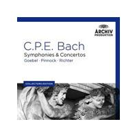 Various Artists - C.P.E. Bach: String Symphonies; Orchestral Symphonies; Flute Concertos & Quartets; Concerto For Two Claviers And Orchestra; Odes, Psalms And Lieder, Fantasy In C / W.F. Bach: Sonata
