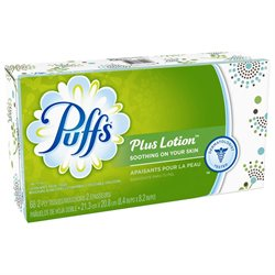 Puffs Plus Lotion Facial Tissues; 68 Count; 1 Regular Box (68 Tissues In Box) (pack Of 30)