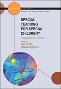 Special Teaching for Special Children