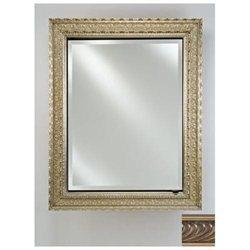 Afina Corporation SD1726RVERPW 17 in.x 26 in.Single Door Recessed Cabinet - Versailles Pewter
