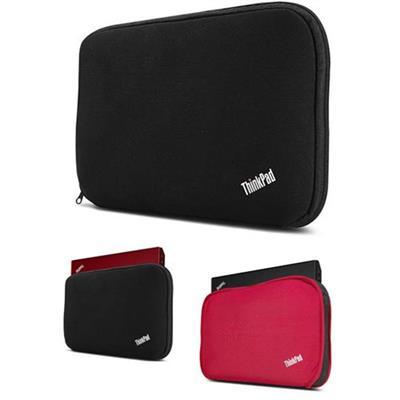 Lenovo 0b47410 Thinkpad Fitted Reversible Sleeve - Notebook Sleeve - 13 - Black  Red - For Thinkpad Edge E32x  E33x  Thinkpad Helix  Thinkpad X1  Thinkpad Yoga