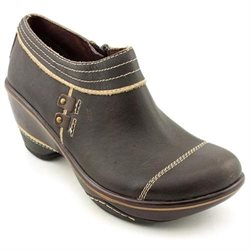 Jambu Beijing Womens Brown Leather Booties Shoes New/Display