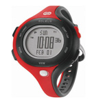 Soleus Chicked Black/red/red Womens 30 Lap Memory Sports Watch